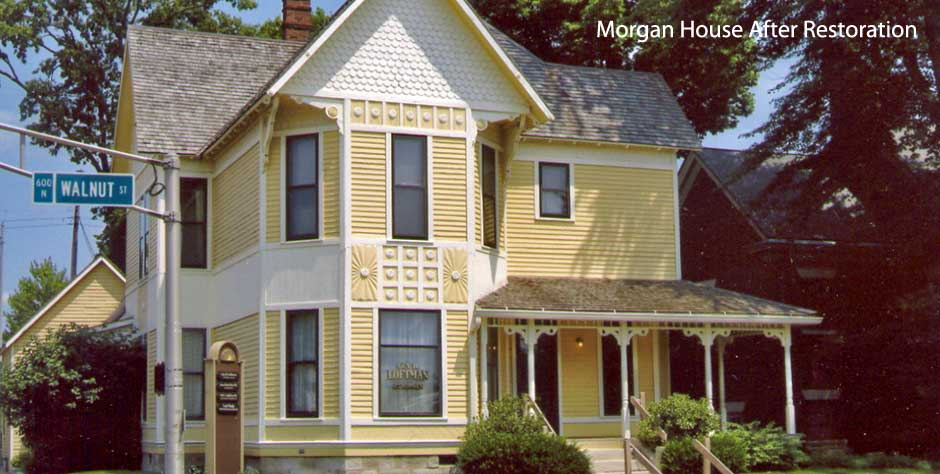 Morgan House after restoration