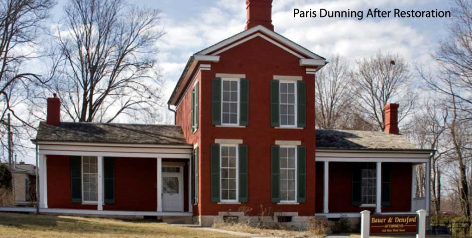 Paris Dunning after restoration